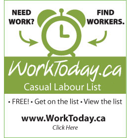 WorkToday.ca 24hr Casual Labour List